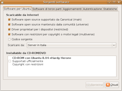 Sorgenti software