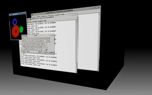 glxgears si trasforma sotto compiz grazie a DRI2