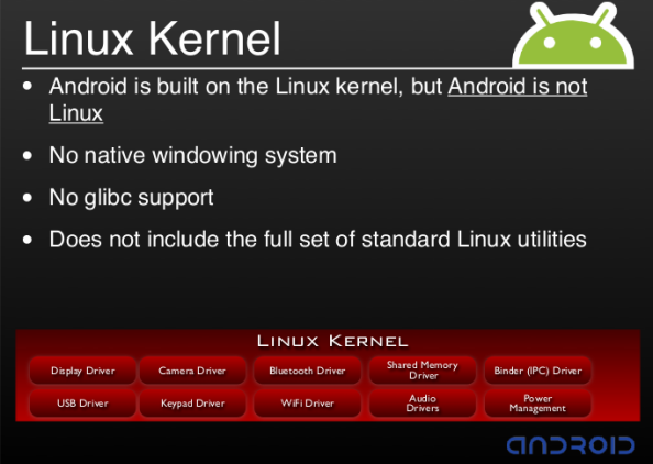 android_not_linux